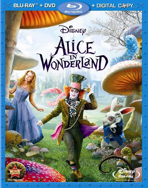 Алиса в стране чудес появится на bd