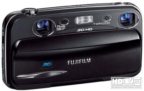 FinePix W3 – компактная 3D камера Fujifilm