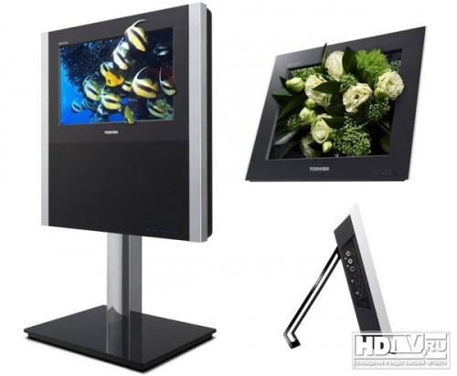 Новые 3D телевизоры Toshiba