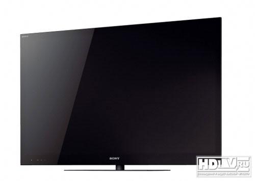 Sony Bravia 2011 с 3D и монолитным дизайном