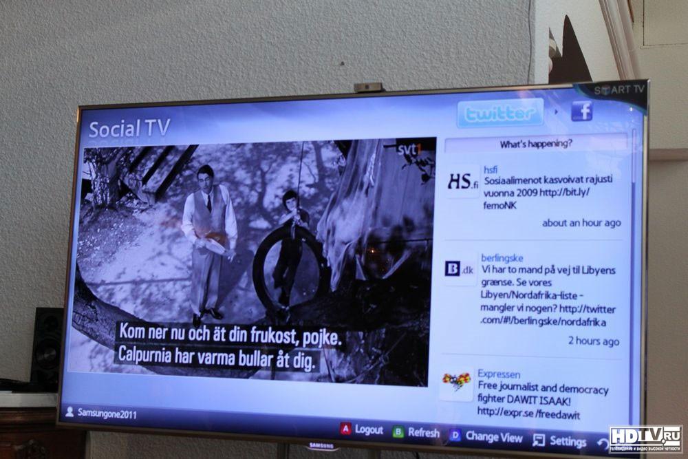 Обзор 3D ЖК телевизора Samsung D8000 серии.