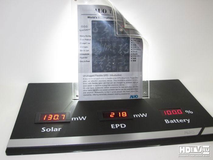 Fpd 2011 дисплейные технологии будущего