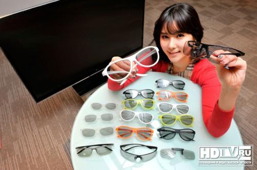 Нові 3d окуляри lg