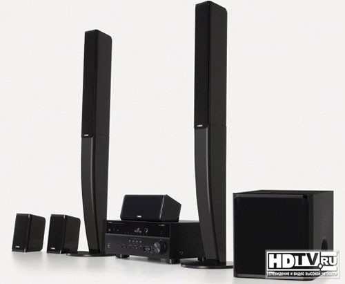 Новый домашний 4К 3D кинотеатр Yamaha