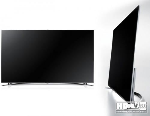 Samsung представляет на российском рынке новые плазменные и ЖК LED телевизоры серии F8