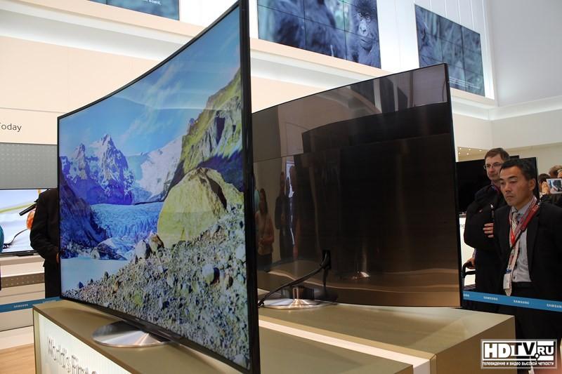 купить изогнутый телевизор самсунг