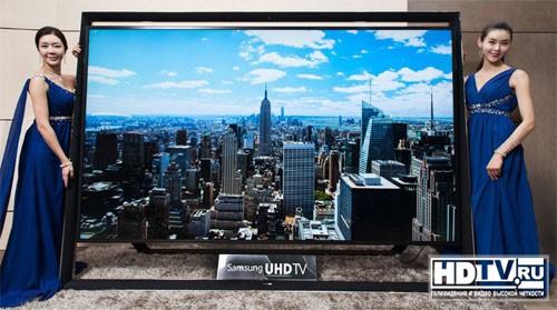 Samsung начинает продажи 110-дюймового 4K телевизора
