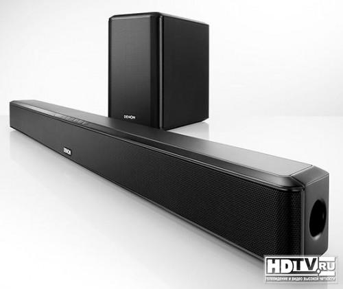 Новая звуковая панель Denon DHT-S514
