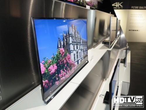 Телевизоры Panasonic 2014 в Европе