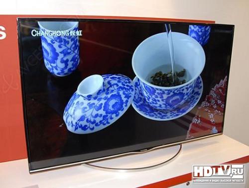 "Новый 55"" Smart TV Ultra HD телевизор Changhong"