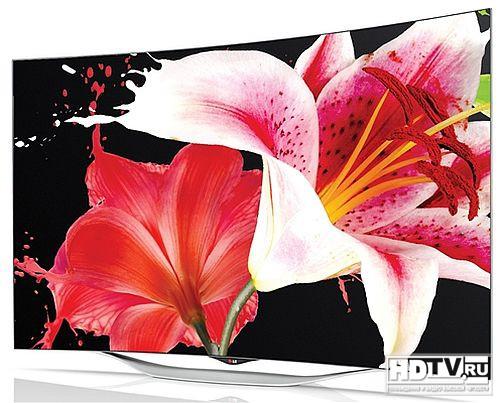 LG 55EC930V - OLED телевизор с новым дизайном и WebOS