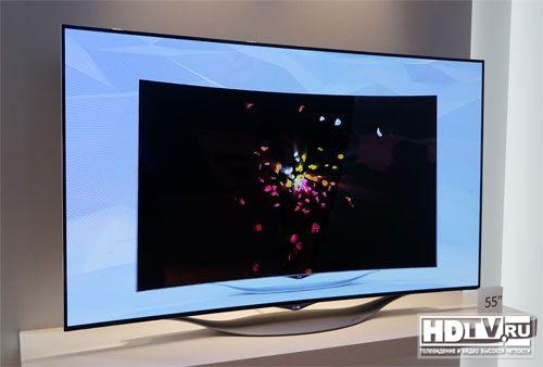 Обзор изогнутого OLED телевизора LG 55EC930V