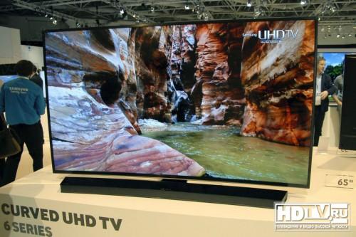 Новые Ultra HD телевизоры Samsung JU6500