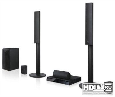 Компактный домашний кинотеатр LG LHB645 с Bluetooth и Smart TV